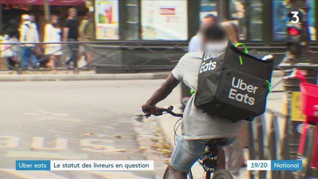 Uber Eats : un avocat veut attaquer le groupe sur le statut des livreurs