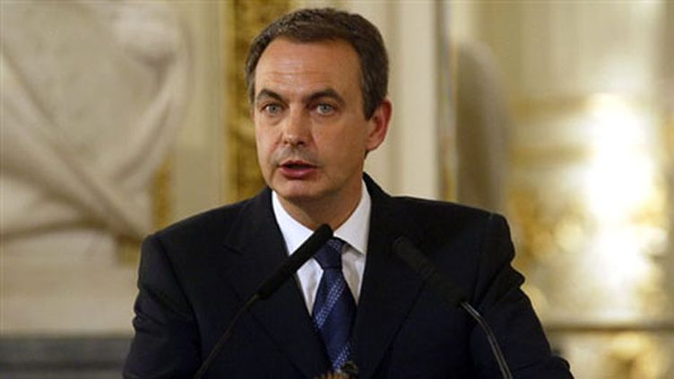 Le chef de gouvernement espagnol, José Luis Rodriguez Zapatero (archives). (AFP 25/01/05)