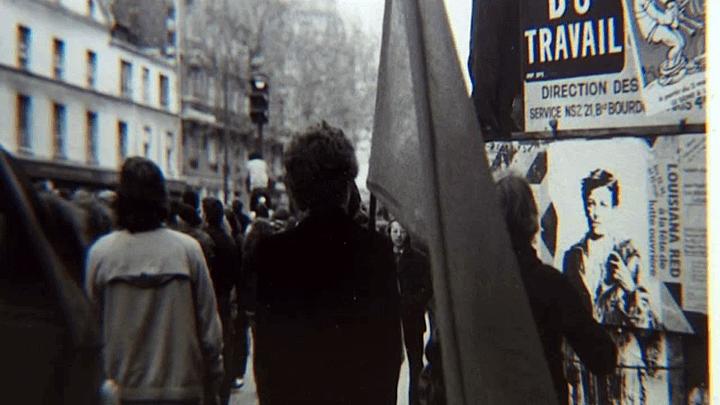 Le visage de Rimbaud par Ernest Pignon-Ernest apparaît pour la première fois sur les murs en 1978  (France 3 / Culturebox / capture d'écran)