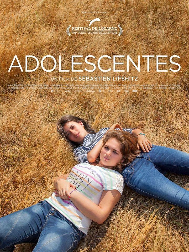 "Affiche du film ""Adolescentes"", de Sébastien Lifshitz (2020) (Ad Vitam)"