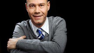 Laurent Léger, journaliste et auteur francais, le 9 janvier 2008. (BALTEL/SIPA)