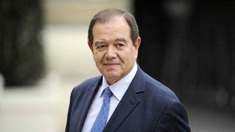 Patrcik Ollier, ministre des Relations avec le Parlement (LIONEL BONAVENTURE / AFP)