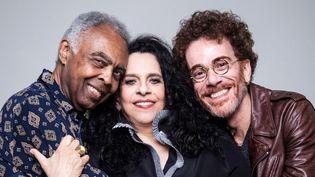 Gilberto Gil, Gal Costa et Nando Reis  (DR)