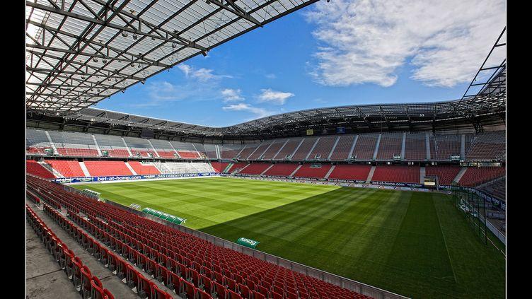 Le Wörthesee Stadion de Klagenfurt.