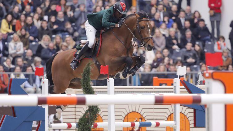 Le cavalier marocain Abdelkebir Ouaddar (STEPHANE ALLAMAN / STEPHANE ALLAMAN)