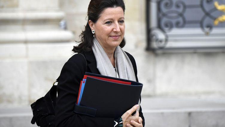 La ministre de la Santé, Agnès Buzyn, à l'Elysée, à Paris, le 24 octobre 2018. (ERIC FEFERBERG / AFP)