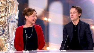 Catherine Frot et Rod Paradot, invités du 20 heures  (France 3 / Culturebox / capture d'écran)