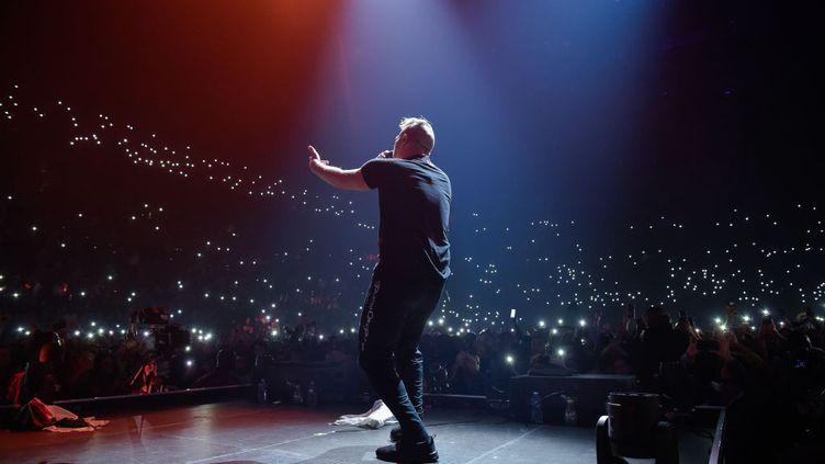 Concert durappeur marseillais Jul, le 13 novembre 2019 à Paris. (DAVID WOLFF - PATRICK  /  REDFERNS)