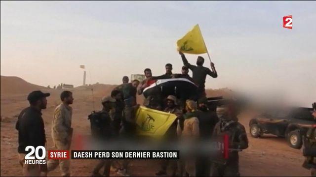 Guerre contre Daech : les jihadistes ont perdu toutes leurs positions syriennes