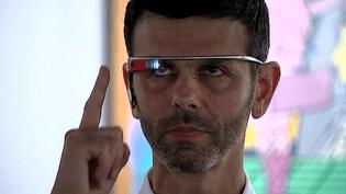 L'audioguide du futur, des lunettes connectées testées actuellement au Grand Palais à Paris  (Culturebox / Capture d'écran)
