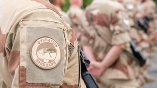 Un militaire de l'opération françaiseBarkhane au Sahel. (NICOLAS LEPAGNOT / HANS LUCAS / AFP)