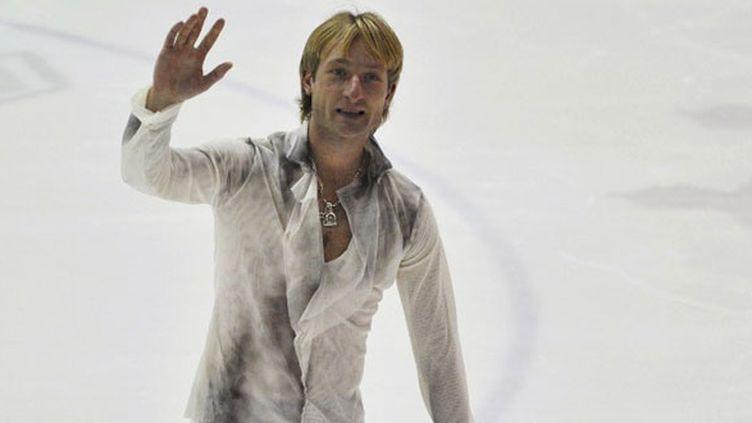 Le patineur russe Yevgeny Plushenko