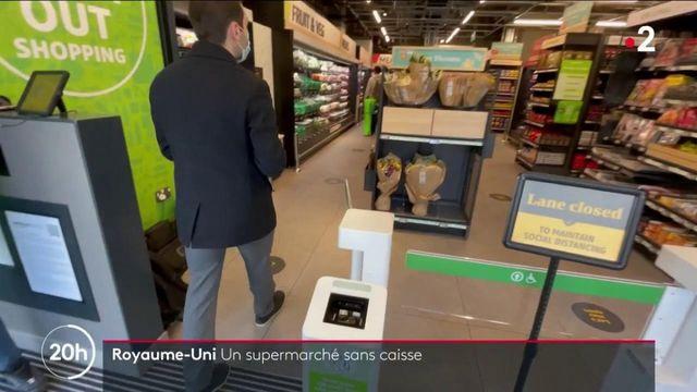 Royaume-Uni : les supermarchés connectés débarquent dans le pays