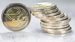 Illustration pièces de deux euros. (JEAN-LUC FLEMAL / MAXPPP)