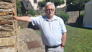 Bernard Mounier, maire de le commune Les Plantiers (Gard).  (SEBASTIEN BAER / RADIO FRANCE)