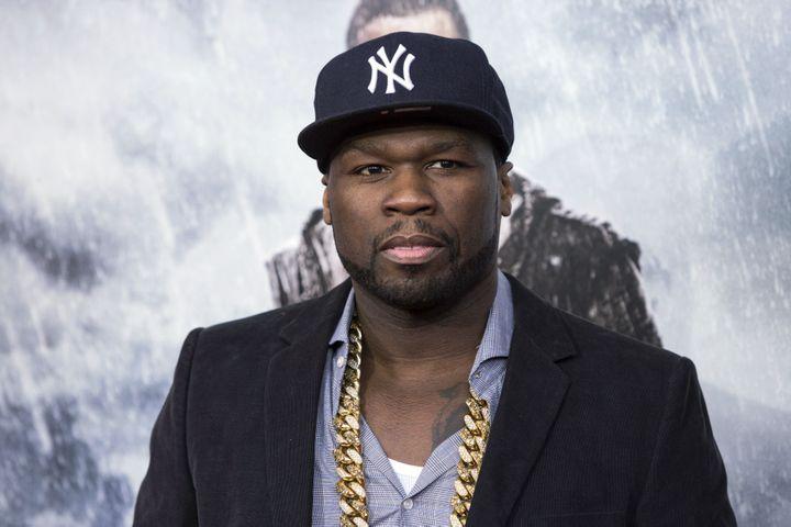 50 Cent lors de la première du film Noéà New York, le 26 mars 2014. (ANDREW KELLY / REUTERS)