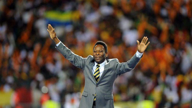 La légende brésilienne du football, Pelé  (FRANCK FIFE / AFP)