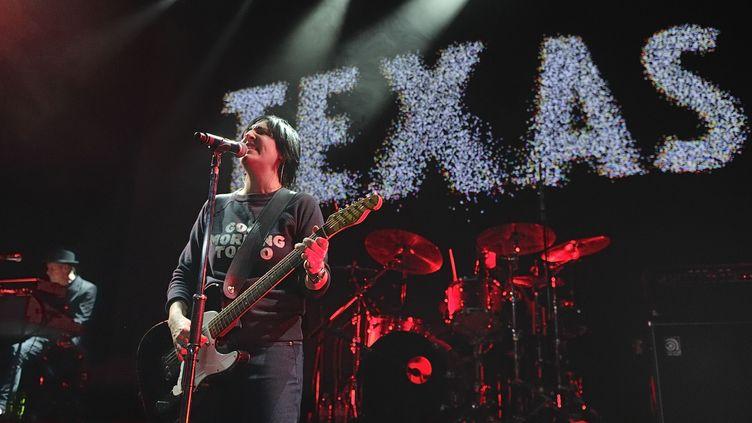 Le groupe écossais Texas en avril 2014 au Palais de Tokyo à Paris  (SADAKA EDMOND/SIPA)