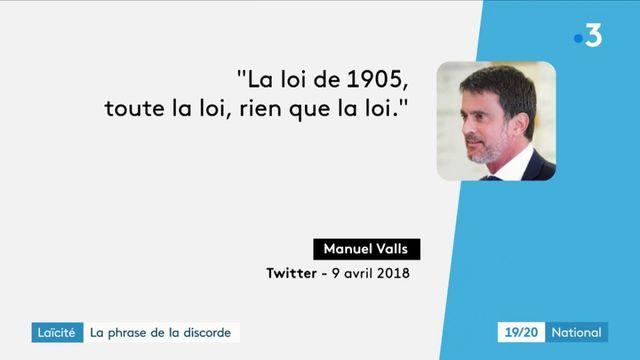 Laïcité : une phrase d'Emmanuel Macron fait polémique
