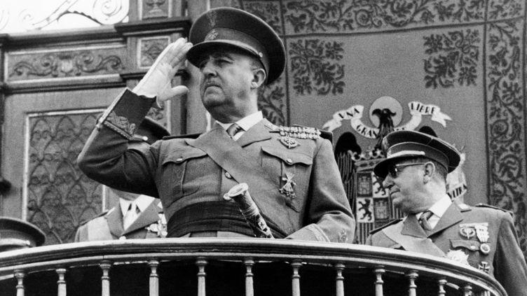 Le général Franco photographié dans les années 1960. (AFP)
