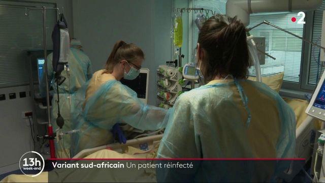 Covid-19 : un cas de réinfection grave au variant sud-africain à Paris