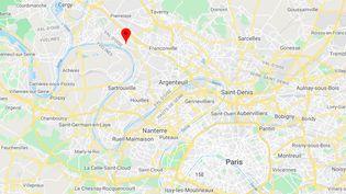Herblay (Val-d'Oise). (CAPTURE D'ÉCRAN / GOOGLE MAPS)
