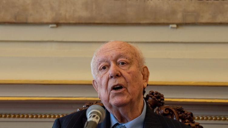 Jean-Claude Gaudin à Marseillele 19 janvier2019. (CHRISTOPHE SIMON / AFP)