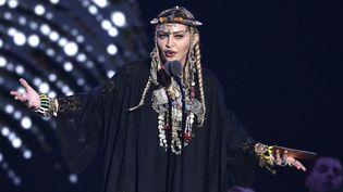 Madonna aux MTV Video Music Awards à New York, 20 août 2018  (Chris Pizzello / AP / SIPA)