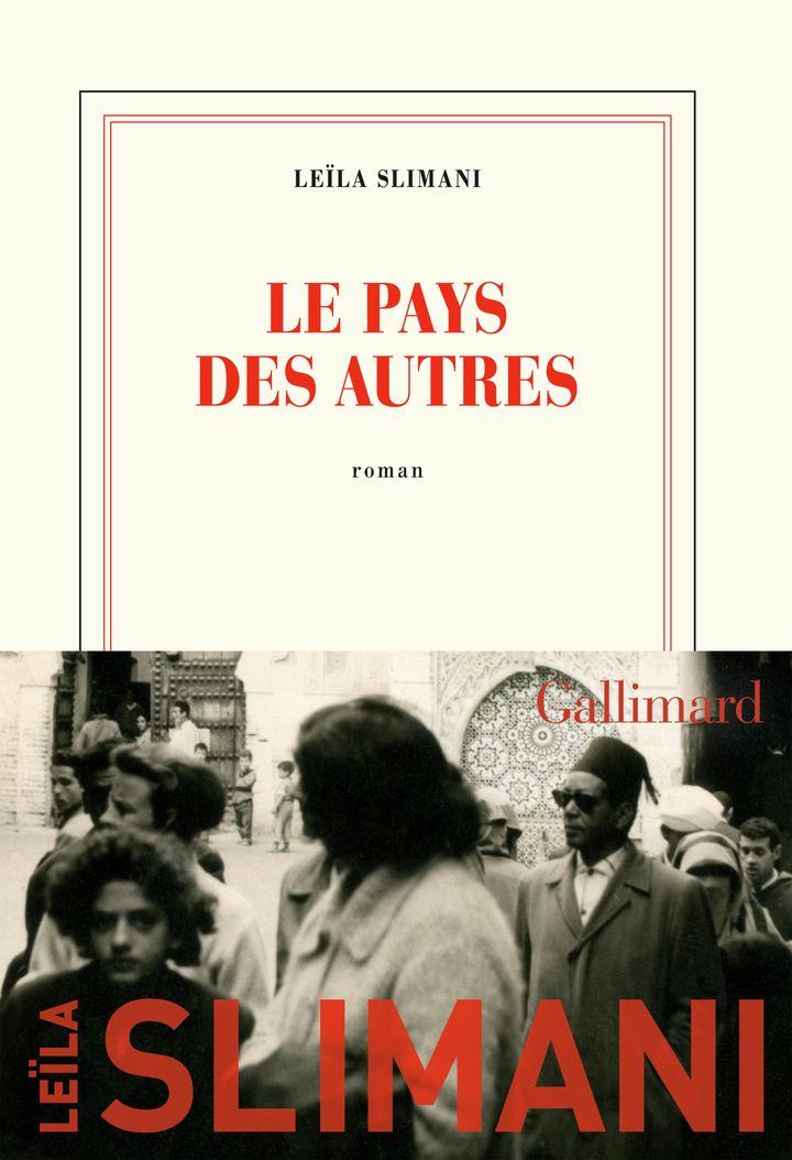 """Couverture de """"Le pays des autres', de Leila Slimani (mars 2020) (GALLIMARD JEUNESSE)"""
