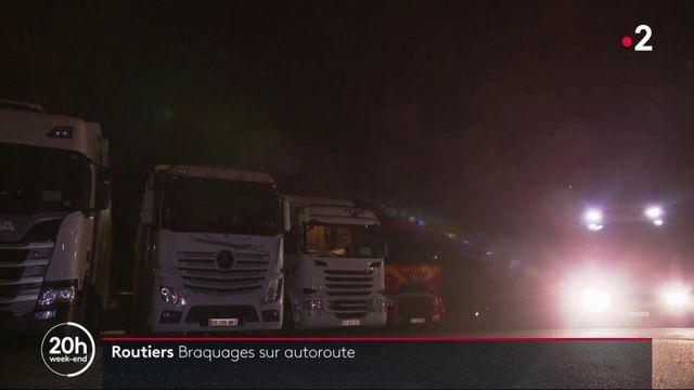 Routiers : les braquages sur autoroute font rage à l'approche des fêtes