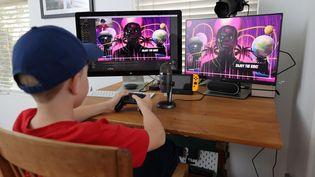 Un garçon de 11 ans joue à Fortnite. (NEILSON BARNARD / GETTY IMAGES NORTH AMERICA)