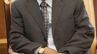 L'ancien président du Yémen, Ali Abdallah Saleh, le 11 janvier 2010 à Sanaa (Yémen). (ARNO BURGI / DPA-ZENTRALBILD / AFP)
