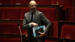 Le Premier ministre Edouard Philippe à l'Assemblée nationale, le 31 mars 2020. (YOAN VALAT / AFP)