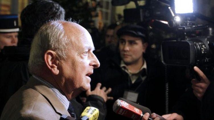 François Loncle, président du groupe PS à l'Assemblée nationale et proche de Strauss-Kahn (AFP - François GUILLOT)