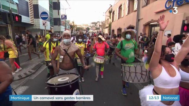 Martinique : de nombreux rassemblements illégaux pour célébrer Mardi Gras