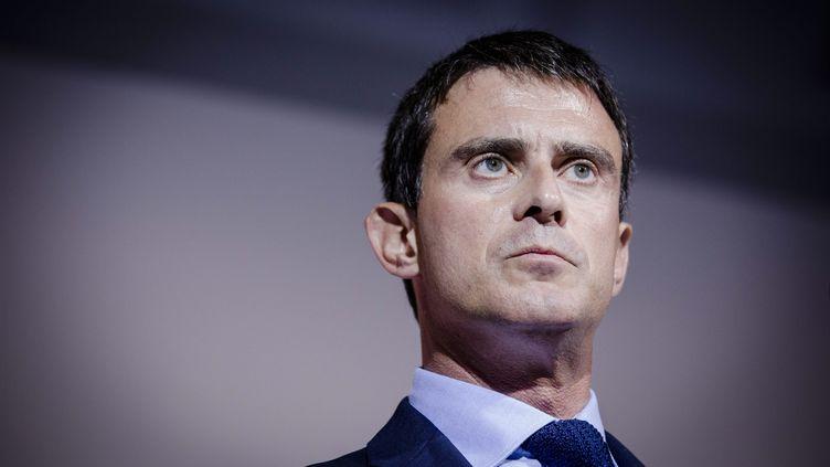 Manuel Valls, le 15 septembre 2014, à Nice (Alpes-Maritimes). (  MAXPPP)