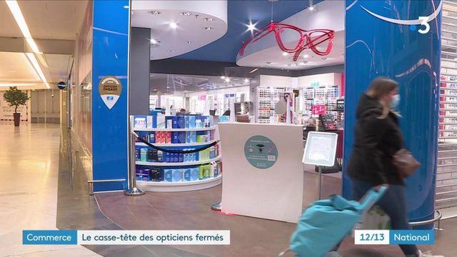 Covid-19 : les opticiens des centres commerciaux contraints de baisser le rideau
