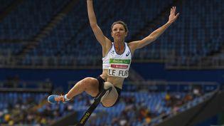 La Tricolore Marie-Amélie Le Fur, médaillée d'or à la longueur aux Jeux de Rio en 2016, va tenter de conserver son titre à Tokyo. (CHRISTOPHE SIMON / AFP)