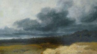 """""""L'Orage"""" de Georges Michel.  (musée des beaux-arts de Strasbourg.)"""