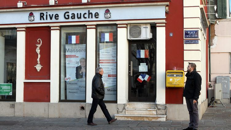La permanence du Parti socialiste de Mulhouse (Haut-Rhin), en décembre 2015. (MAXPPP)