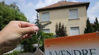 Une maison à vendre. Photo d'illustration. (MAXPPP)