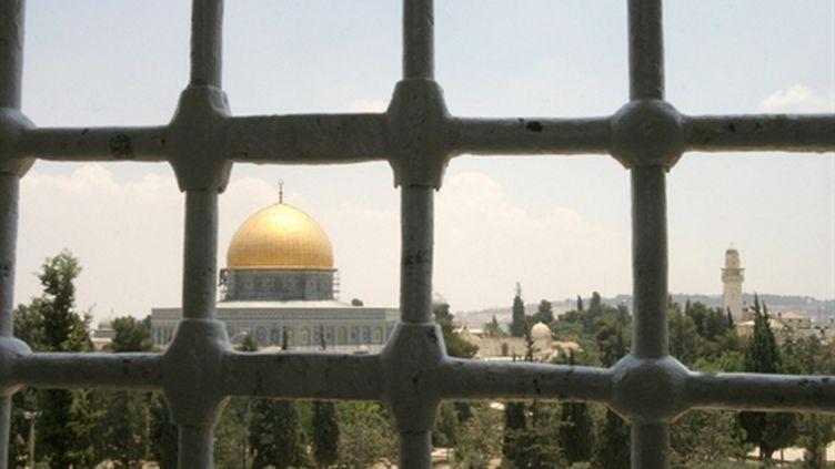 La mosquée Al Aqsa sur l'Esplanade des mosquées à Jérusalem (AFP/GALI TIBBON)