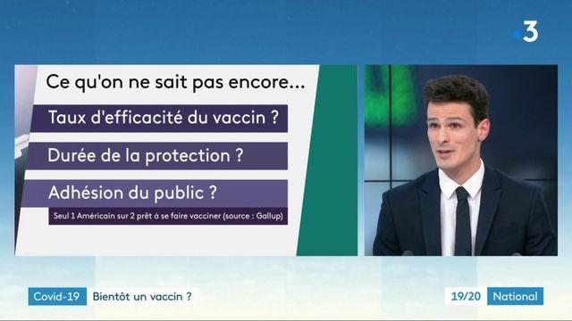 Coronavirus : des vaccins en perspective ?