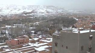 neige maroc (FRANCETV INFO)