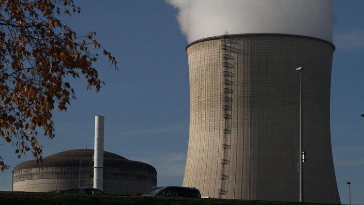 (La centrale nucléaire de Cattenom (Moselle) ne serait pas aux normes, selon un rapport rendu au Parlement allemand © MaxPPP)