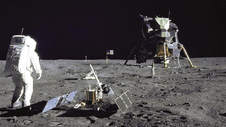 Buzz Aldrin durant la mission Apollo 11, le 29 juillet 1969 sur la Lune. (NASA / REUTERS)