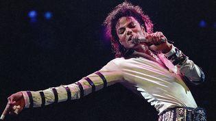 Michael Jackson le 24 février 1988 à Kansas City.  (Cliff Schiappa/AP/SIPA)