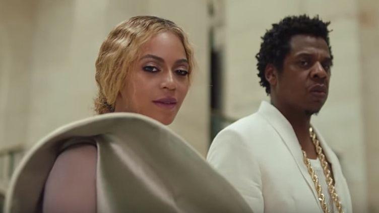 Beyonce et Jay-Z dans leur clip Apeshit  (Capture d'écran)