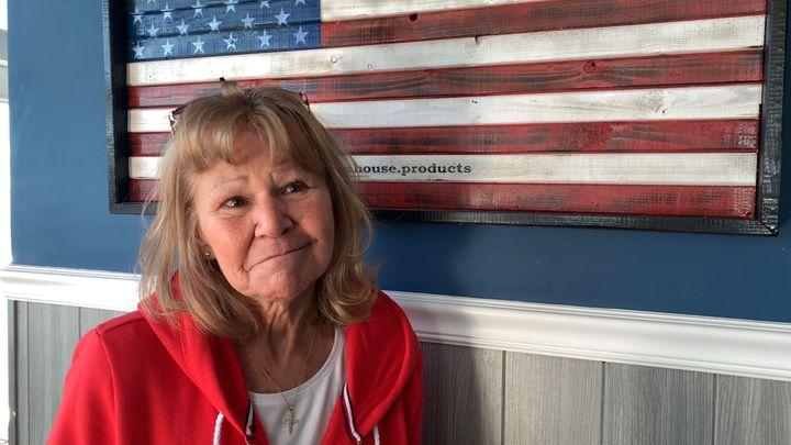 Linda Crane, 70 ans, coiffeuse à la retraite, Deale, Maryland. (FRANCK MATHEVON / RADIO FRANCE)