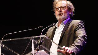 L'humoriste Christophe Alévêque, en 2017. (FRANCOIS GUILLOT / AFP)